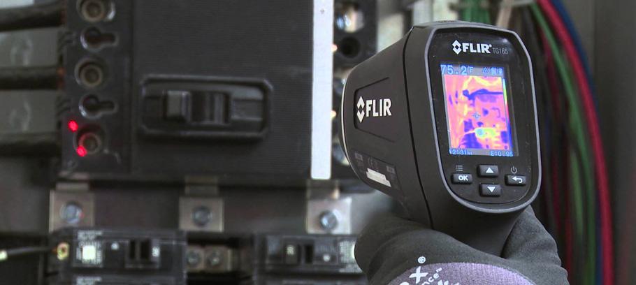 Тепловизор — для точного определения температуры поверхности